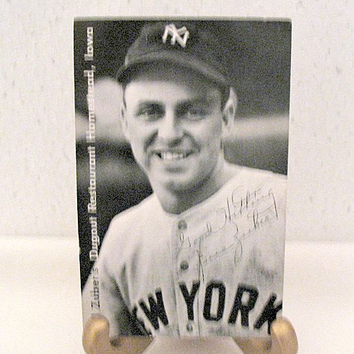 Vintage Collectible Sports Advertising Bill Zubers Homestead Hotel 1950s