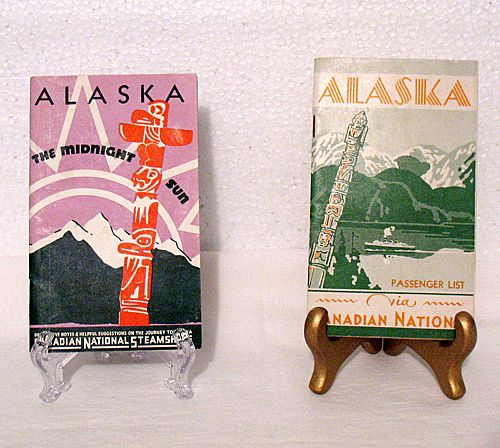 20% OFF Vintage Collectible Canadian National Steamship Cruise From Vancouver, B. C. to Skagway, Alaska Trip Brochure & Passenger List August 15,1938