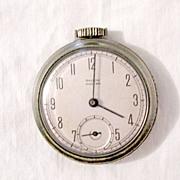 Vintage Collectible Westclox Pocket Ben Watch 1950s Works