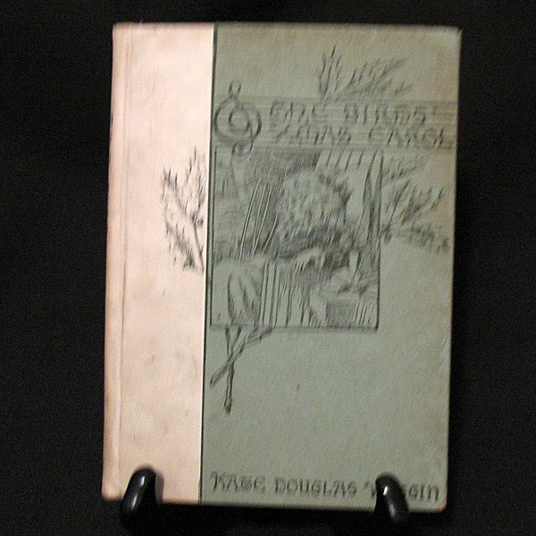 Book The Birds Christmas Carol by Kate Wiggin Christmas Book 1896 Excellent Condition