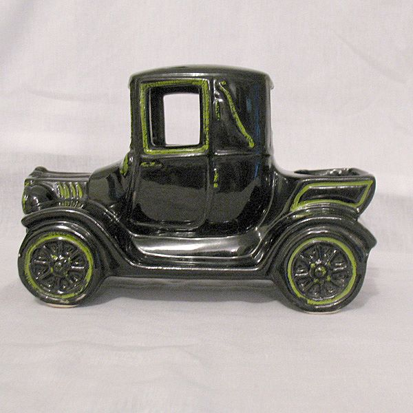 Vintage Collectible Classic Car Planter in Shape of Model T 1950-60s