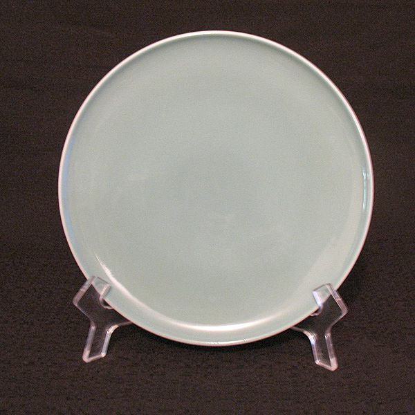 "Vintage Collectible Retro (7)-8"" Iroquois China Salad Plates~Informal Line~Ben Seibel~Rosemary Pattern~1958/68 Mint~UNUSED"