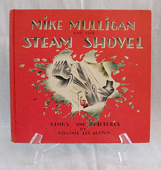 Vintage Collectible   Book Mike Mulligan & HIs Steam Shovel Excellent Condition No Dust Jacket