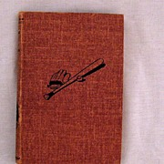 SALE Vintage Chip Hilton Sports Series Book Dugout Jinx by Clair Bee 1952 Very Good ...