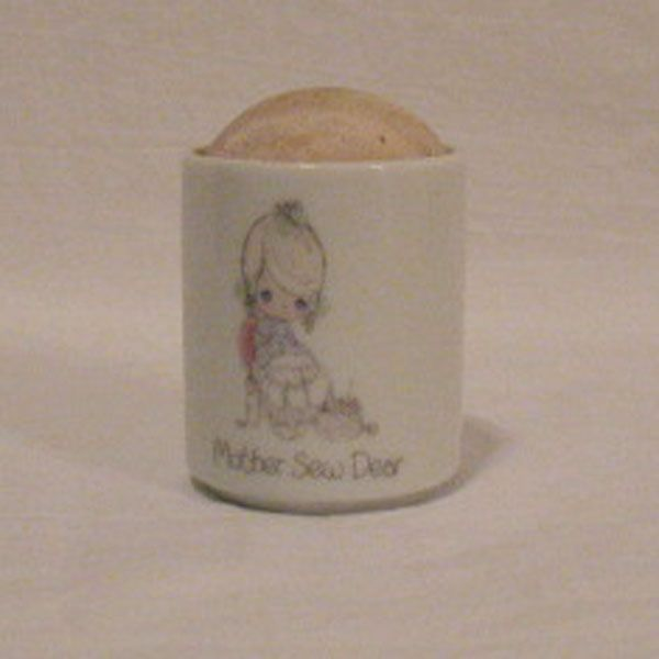 Vintage Precious Moments Pin Cushion by Enesco Imports Corp 1986 Very Good Condition