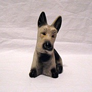 Vintage Collectible Carnival Chalkware Scotty Dog 1930-50s Excellent Condition