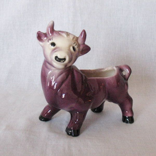 Vintage Collectible Ceramic Ferdinand the Bull Planter 1950-60s Excellent Condition