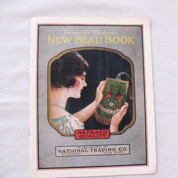 Vintage New Bead Book by National Trading Co 1924 Very Good Condition