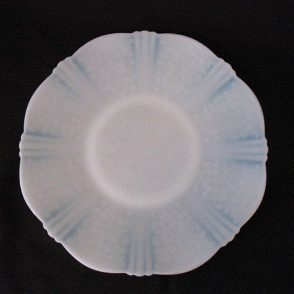 """Vintage Collectible (11) American Sweetheart 12"""" Salvers by MacBeth-Evans in The Monax Color from 1930-36 Very Good Condition"""