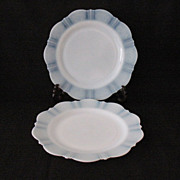 "(20) Vintage Collectible MacBeth-Evans 9"" Luncheon Plates American Sweetheart Pattern with Monax Color 1930-36 In Like New Condition"