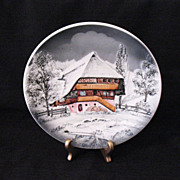 20% OFF Vintage West Germany Majolica Charger Plate Late 1940s-1950s