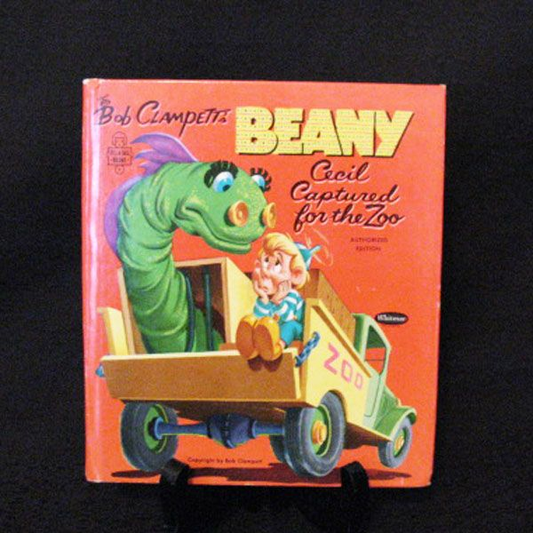 Vintage Book Bob Clampett's Benny:Cecil Captured For The Zoo 1954 Edition Like New Condition