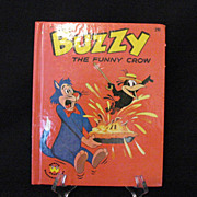 SALE Vintage Harvey Cartoon Character Buzzy The Funny Crow 1963 Like New Condition Wonder Books