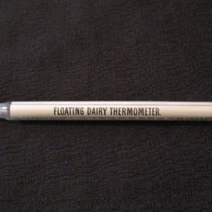 Vintage Floating Milk Thermometer 1930-1950 Still Works Excellent Condition