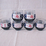 Vintage (6) Libbey Apollo 11 High Ball Glasses 1969 Excellent Condition