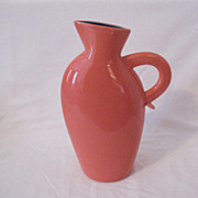 Vintage Collectible Lindt-Stymeist Colorways Salmon 10 1/2 Inch Pitcher/Vase Mint Condition