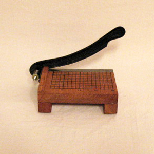 Vintage Collectible Salesman Sample of Paper Cutter 1950-60s Excellent Condition