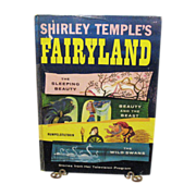 Vintage Shirley Temple's Fairyland Book 1958 Very Good Condition