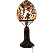 Vintage Murano Millefiori Table Lamp 1960s Excellent Condition