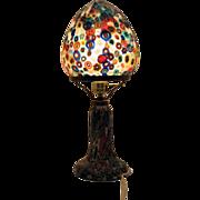 Vintage Murano Millefiori Table Lamp 1960s Excellent Condition