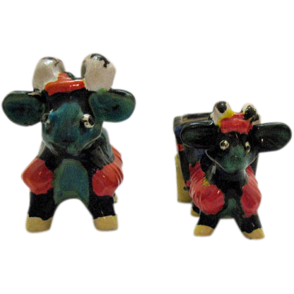 Two Vintage Rams Pin Cushions 1950s Very Good Condition