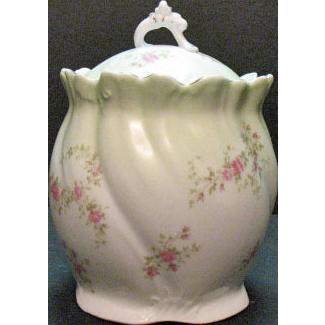 Vintage Habsburg Austria Porcelain Cracker Jar 1930s Excellent Condition