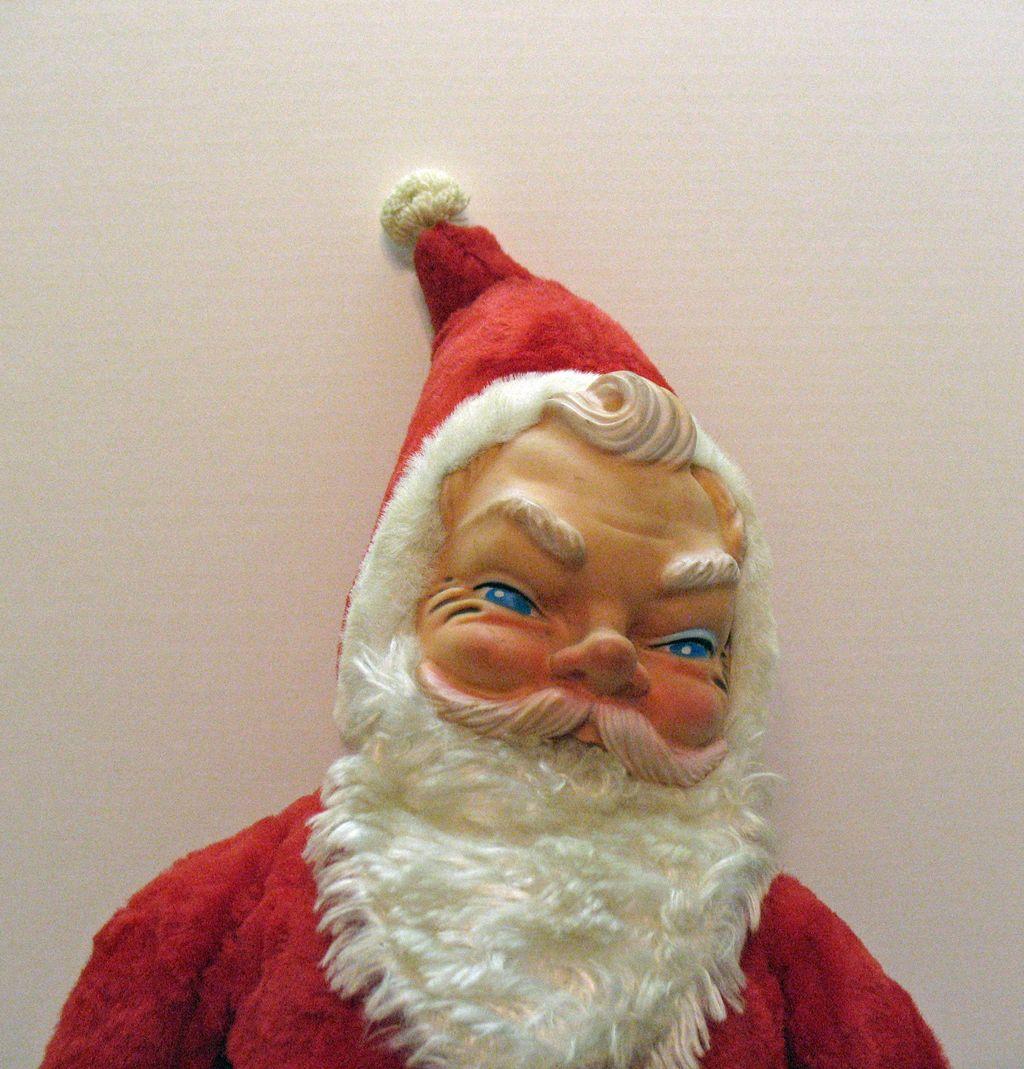 Vintage Santa Claus Doll 37
