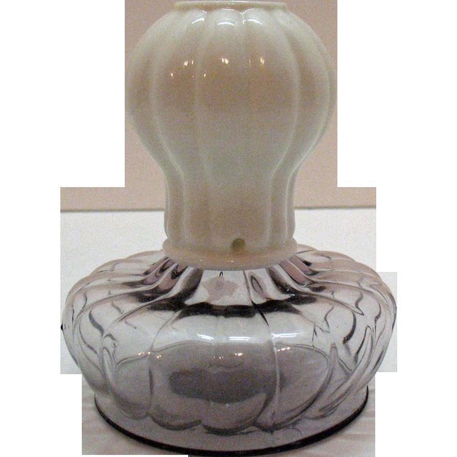 Vintage Antique Glow Lamp Pat. 8-27-1895