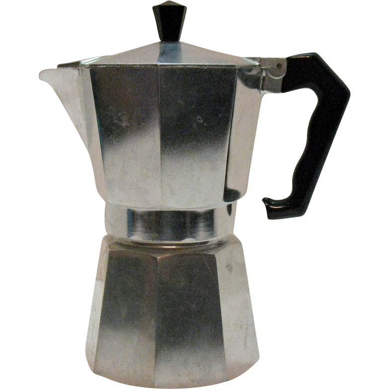 Vintage One Cup Moka Coffee Pot by Marimba from the 1950s