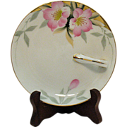 Vintage Noritake Porcelain Lemon Tray Server Azalea Pattern #19322 Very Good Condition