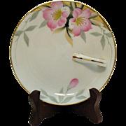 Vintage Noritake Porcelain Lemon Tray Server Azalea Pattern #19322 Very Good Condition