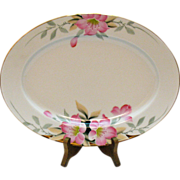 Vintage Noritake Serving Platter Azalea Pattern #19322 Very Good Condition