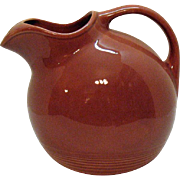 Vintage Harlequin Ball Jug by Homer Laughlin 1937-64 Very Good Condition