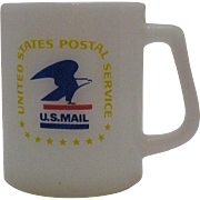 Vintage Federal U.S. Postal Cup 1960-70s Very Good Condition