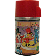 Vintage Bozo the Clown Aladdin Thermos 1963 Good Condition