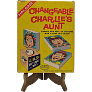 Vintage 1960s Charlies Aunt Changeable Aunt Game Original Box Good Condition