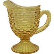 Vintage Imperial Marigold Carnival Glass Creamer Pattern #304 Very Good Condition