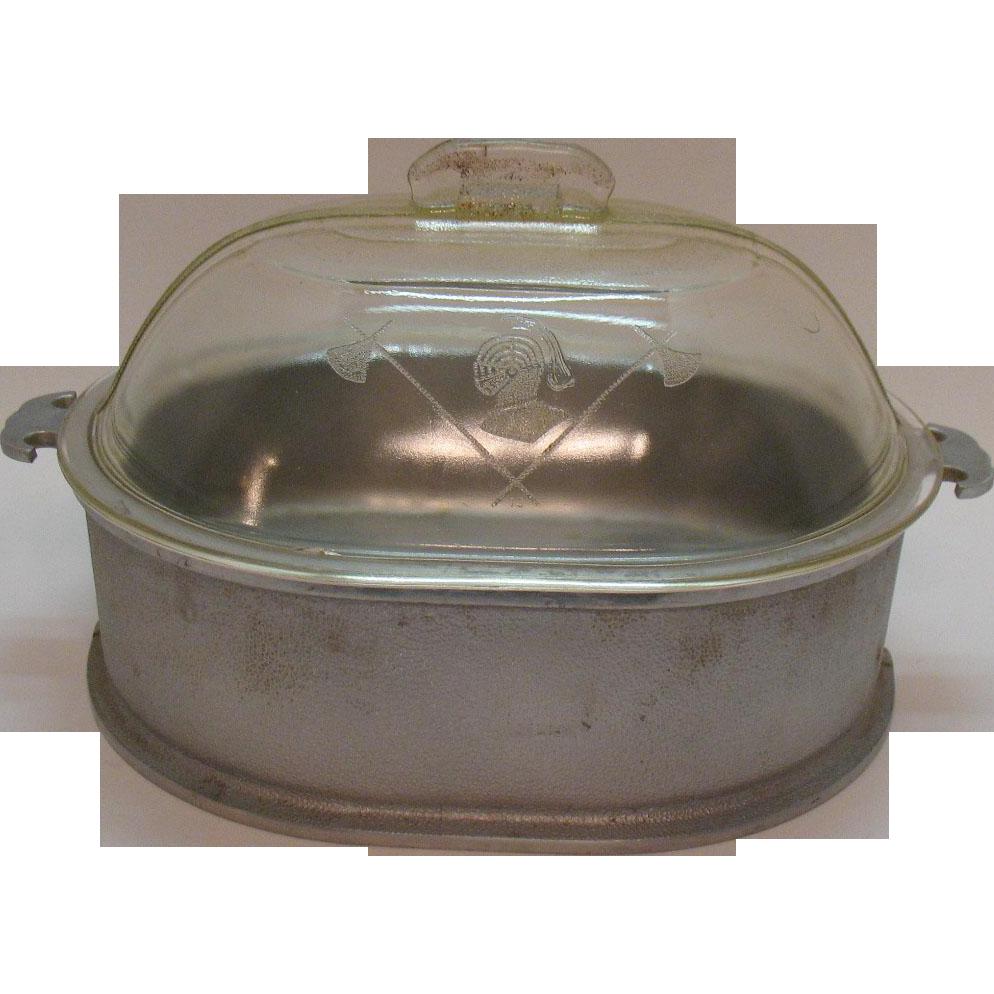 Vintage Large Guardian Ware Cast Aluminum 1930-56 Good Usable Condition