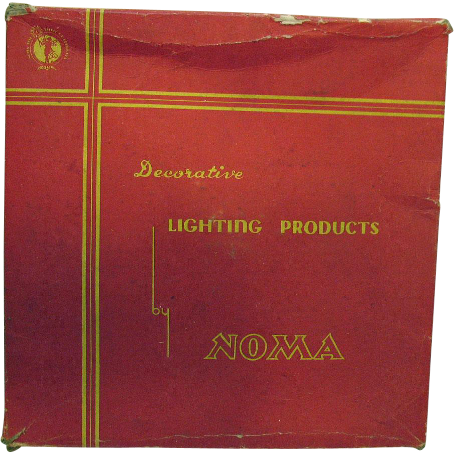 Vintage Noma Star Christmas Light 1930-40s Works Great Good Condition