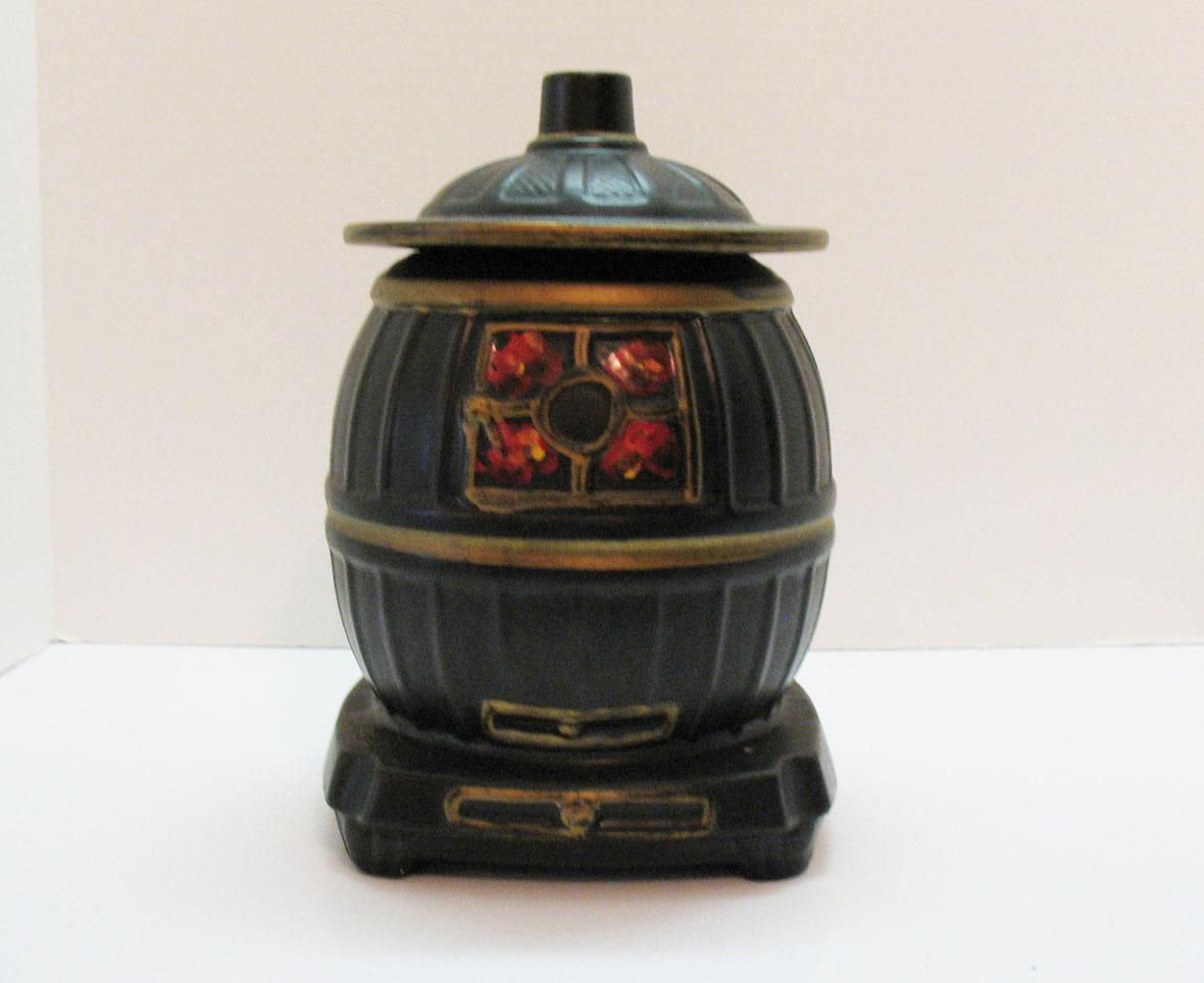 Vintage McCoy Pot Belly Stove Cookie Jar 1967 Very Good Condition ...