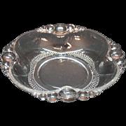 Vintage Duncan & Miller Bon Bon Bowl in Tear Drop Pattern 1936-55 Very Good Condition