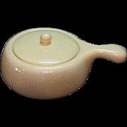 Vintage California Brusche Al Frescoware 2 Qt. Casserole 1950s Very Good Condition