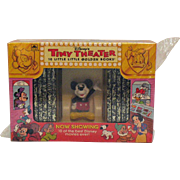 Vintage Walt Disney Tiny Theater 1993 Never Opened Very Good Condition