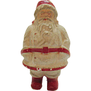 Vintage Paper Mache Santa from 1937 Good Vintage Condition