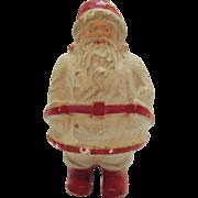 Vintage Paper Mache Santa from 1937 Good Vintage Condition