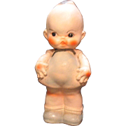 Vintage 1930s Carnival Chalk ware Kewpie Doll Good Vintage Condition