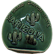 Vintage Souvenir Arizona 1950s Ashtray Good Condition