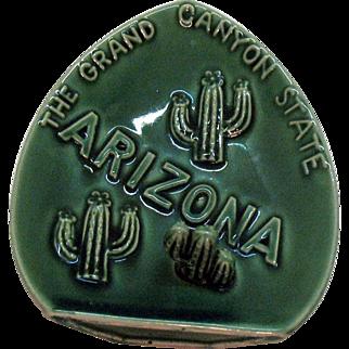 Vintage Souvenir Arizona 1950s Ashtray Good Condition