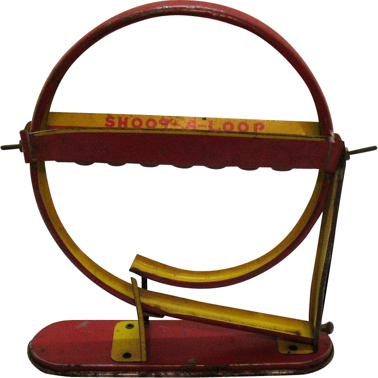 Vintage Shoot-A-Loop Game by Wolverine Mfg. Co. 1930s Good Vintage Condition