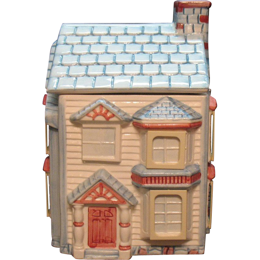 Vintage 1994 House Cookie Jar